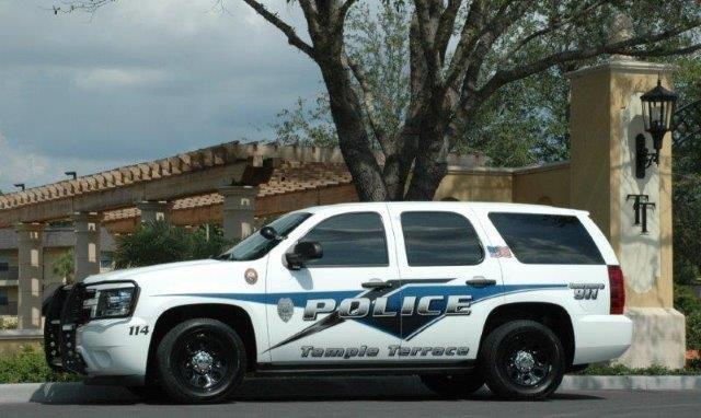 Temple Terrace Police Department patrol car